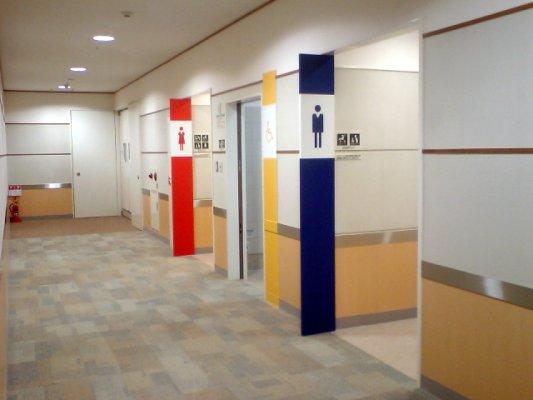 イオン鳥取北SCのトイレの一つ