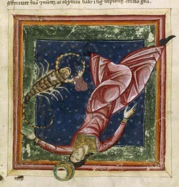 Lune chute en Scorpion